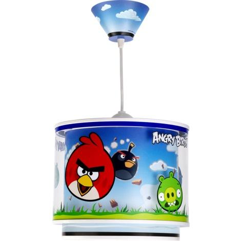 Klik 60882 - ANGRY BIRDS gyerek csillár 1xE27/60W