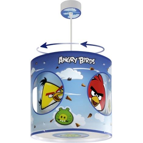 Klik 60884 - ANGRY BIRDS gyerek csillár 1xE27/60W
