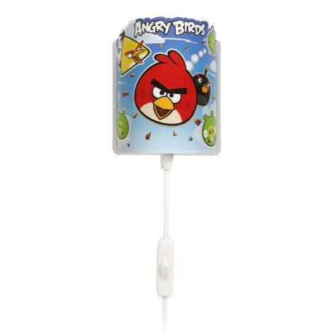 Klik 60889 - ANGRY BIRDS gyerek fali lámpa 1xE14/0,5W/230V
