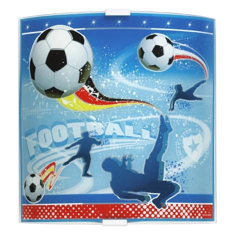 Klik 80468 - FOOTBALL fali lámpa 1xE27/60W