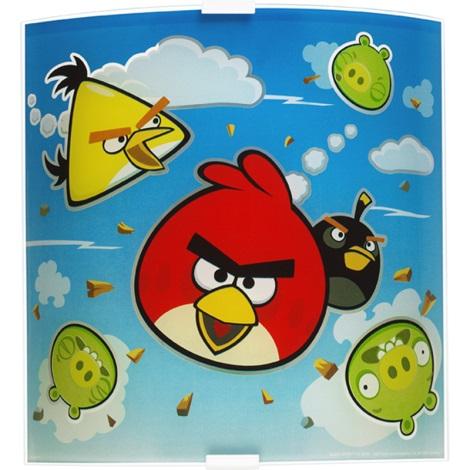 Klik 80888 - ANGRY BIRDS gyerek fali lámpa 1xE27/60W