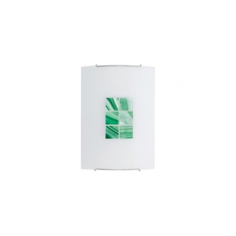KUBIK 3 GREEN fali lámpa 1xE27/100W