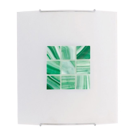 KUBIK 5 GREEN fali lámpa 1xE27/100W