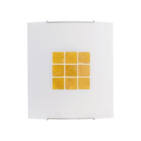 KUBIK 5 YELLOW fali lámpa 1xE27/100W