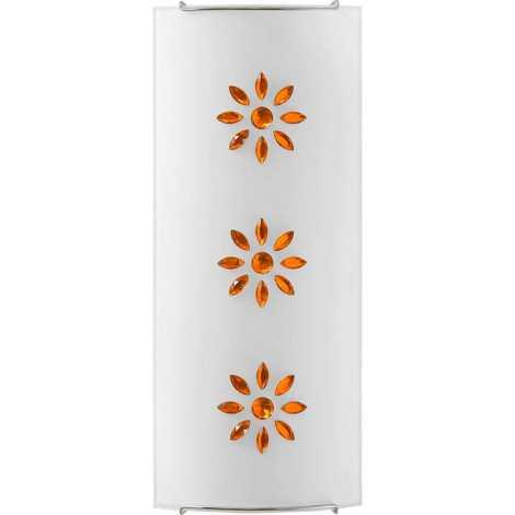 KUKU 2 AMBER fali lámpa 2xE14/60W