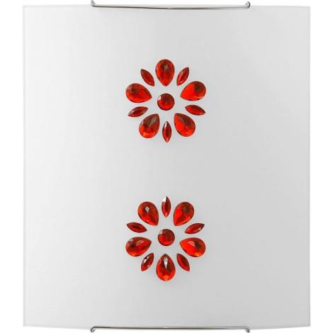 KUKU 5 RED fali lámpa 1xE27/100W