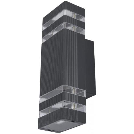 Kültéri fali lámpa RIO II 2xE27/40W/230V IP54