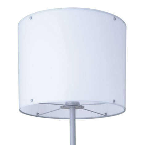 Kültéri lámpa CUBA 1xE27/22W/230V fehér