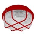 Kültéri mennyezeti lámpa 1 × E27 / 100 W / 230 V Piros IP44