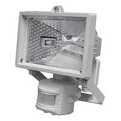 Kültéri reflektor  PIR érzékelővel T254 1xR7S 78 mm/150W fehér