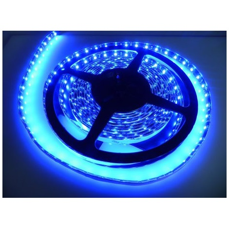 LED-csík 5 vízálló 5m IP65  kék - GXLS014