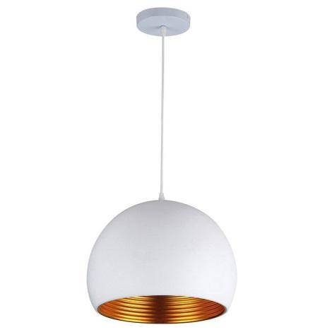 LED Csillár 1xE27/10W/230V fehér 35cm