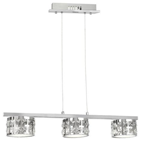 LED Csillár zsinóron ALEX 3xLED/15W/230V