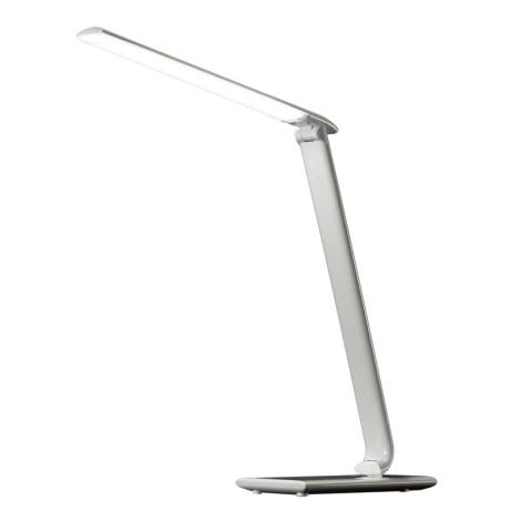 LED dimmelhető asztali lámpa USB csatlakozó LED/12W/230V fehér