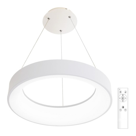 LED Dimmelhető csillár zsinóron NEST LED/40W/230V 3000-6500K fehér