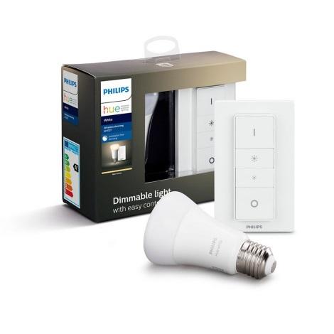 LED Dimmelhető izzó Philips Hue WHITE E27/9W/230V 2700K