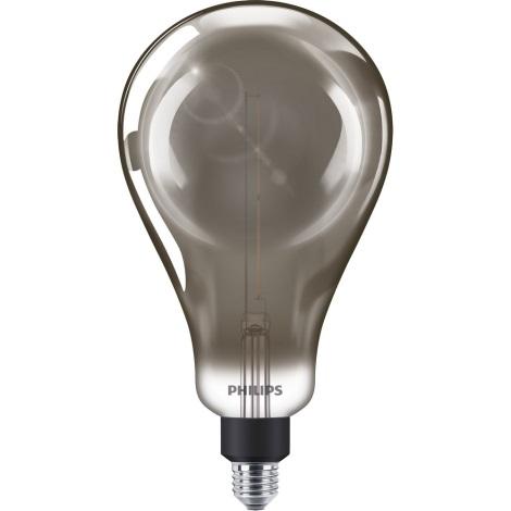 LED Dimmelhető izzó SMOKY VINTAGE Philips A160 E27/6,5W/230V 4000K