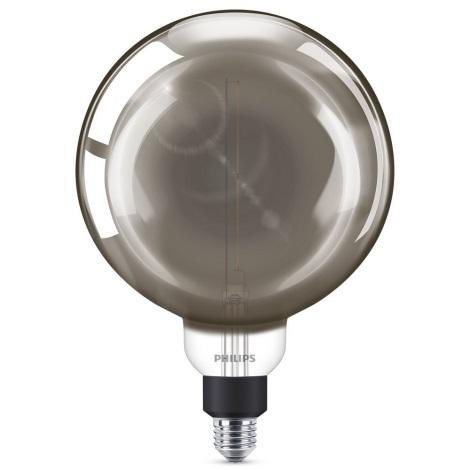 LED Dimmelhető izzó SMOKY VINTAGE Philips G200 E27/6,5W/230V 4000K