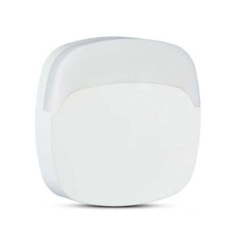 LED Éjjeli fény érzékelővel SAMSUNG CHIP LED/0,5W/230V 65mm 3000K négyzet