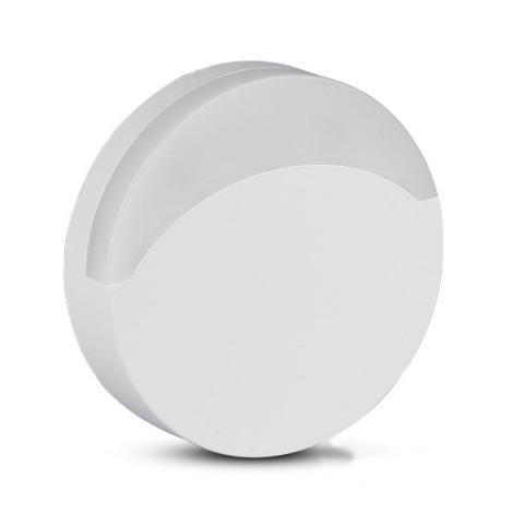 LED Éjjeli fény érzékelővel SAMSUNG CHIP LED/0,5W/230V 65mm 4000K kerek