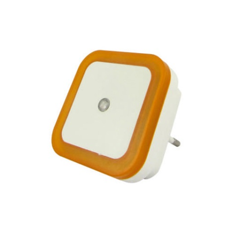 LED Éjjeli lámpa érzékelős LED/0,5W/230V narancssárga