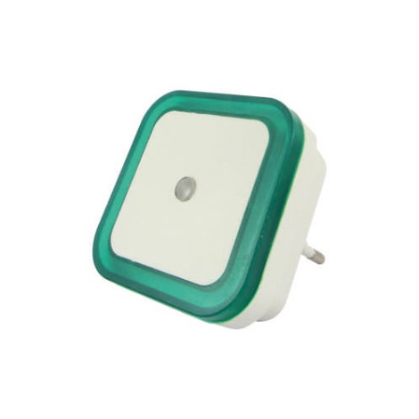 LED Éjjeli lámpa érzékelős LED/0,5W/230V zöld
