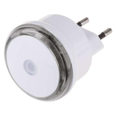 LED Éjszakai fény fényérzékelővel konnektoros 3xLED/0,5W/230V