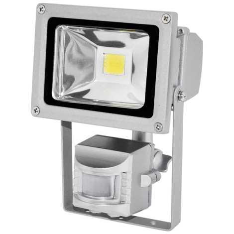 LED érzékelős reflektor TOMI MCOB/10W - GXLS054