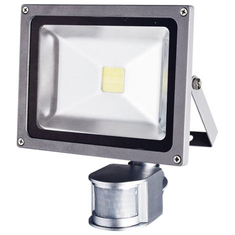 LED  érzékelős reflektor TOMI MCOB/20W - GXLS055