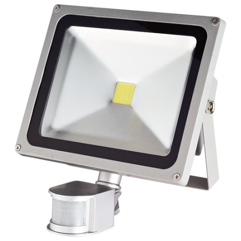LED  érzékelős reflektor TOMI MCOB/30W - GXLS056