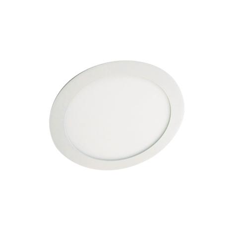 LED-es mennyezeti lámpa LED60 VEGA-R Silver SMD/12W meleg fehér kerek