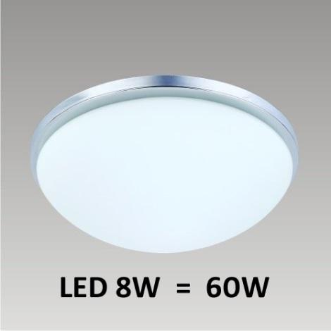 LED-es mennyezeti lámpa PERI 1xLED/8W matt nikkel