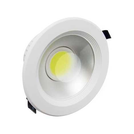 LED-es süllyesztett lámpa LYRA MCOB 1xLED/12W meleg fehér - GXDW023
