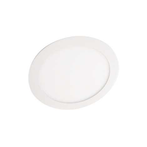 LED-es süllyesztett lámpa  VEGA ROUND 1xLED 18W meleg fehér - GXDW003