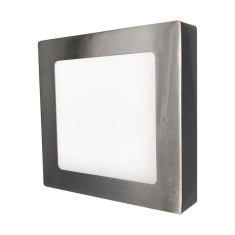 LED fal lámpa FENIX 90xLED/18W Ezüst/Meleg fehér - GXDW038