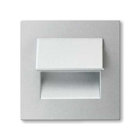 LED fali lépcsőházi lámpa LIVE 3xLED/0,24W/12V alumínium 6000K