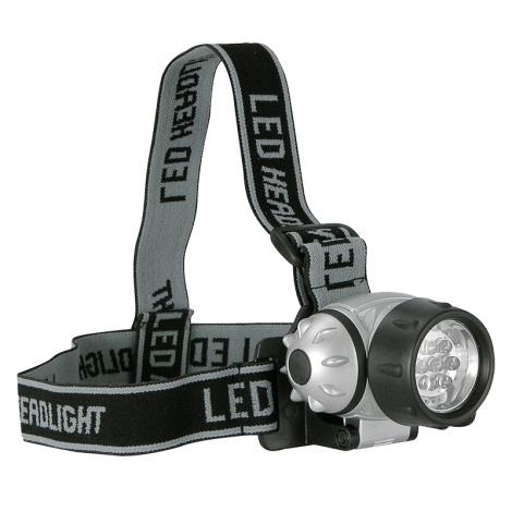LED fényszóró KOPFLAMPE 7xLED/3xAAA