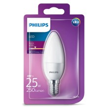 LED gyertya Philips E14/4W/230V - CANDLE