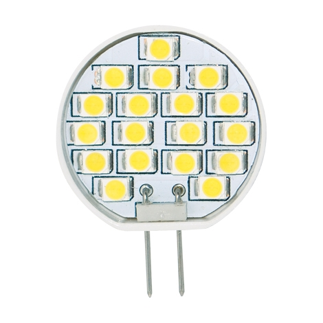 LED izzó 1W  LED18 SMD 2835 meleg fehér JC - GXLZ083