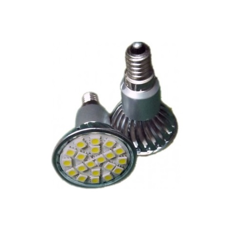 LED izzó E14/4W fehér