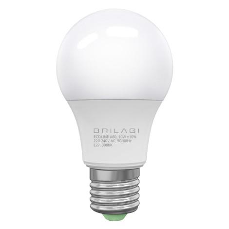 LED Izzó ECOLINE A60 E27/10W/230V 3000K - Brilagi
