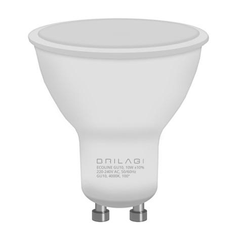 LED Izzó ECOLINE GU10/10W/230V 4000K - Brilagi
