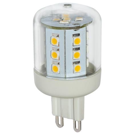 LED izzó G9/2,6W LED23 SMD meleg fehér - GXLZ128