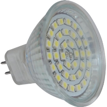 LED izzó LED36 SMD MR16/4W/12V CW - GXLZ104