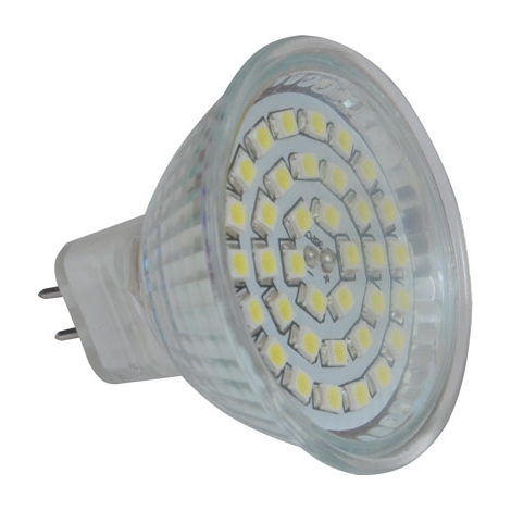 LED izzó LED36 SMD MR16/4W/12V CW - GXLZ104