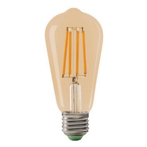 LED Izzó LEDSTAR AMBER ST64 E27/10W/230V 2200K