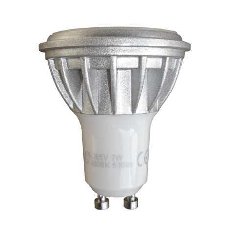 LED izzó  Luxera 75207 - 1xGU10/7W/230V - 4000K