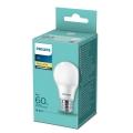 LED izzó Philips A60 E27 / 8W / 230V 2700K