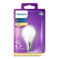 LED Izzó Philips E14/2,2W/230V