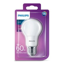 LED Izzó Philips E27/8W/230V